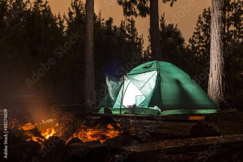 Fotografía  Acampar (Camping)