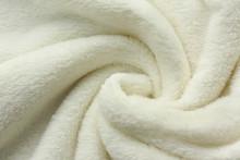 White Soft Fleece Blanket Swir...