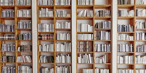 bookshelf Canvas-taulu