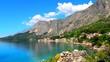 Krajobraz wybrzeża w Chorwacji