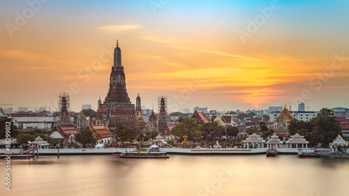 Photo  Wat Arun, Bangkok, Thailand