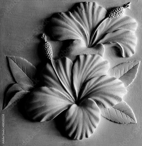 Fototapety, obrazy: Flower figure