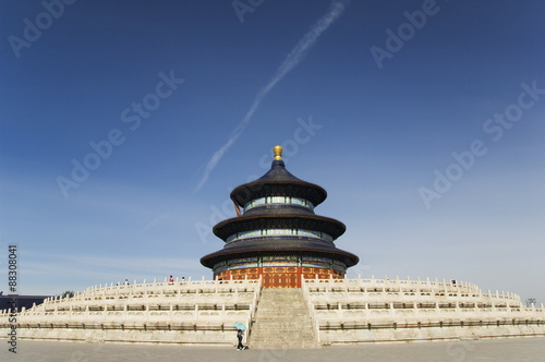 The Hall of Prayer for Good Harvests, The Temple of Heaven, UNESCO World Heritage Site, Beijing, China, Asia