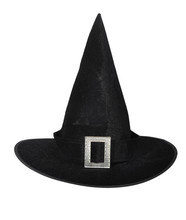 Witch Hat Isolated On A White Background.