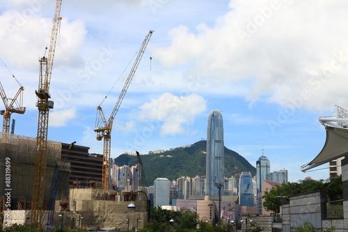 Photo  Hong Kong's Skyline