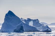 Iceberg Near The Cumberland Peninsula, Baffin Island, Nunavut, Canada