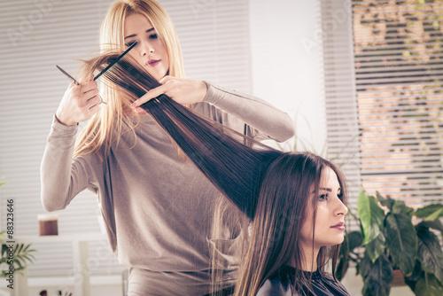mata magnetyczna At The Hairdresser's
