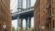 Manhattan Bridge Detail, New York