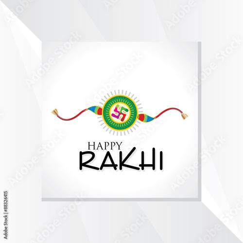 Photo  indian festival raksha bandhan concept vector