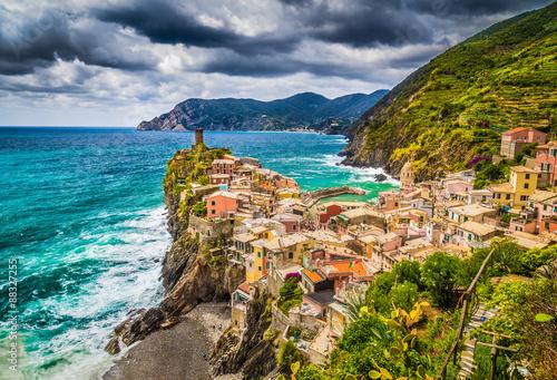 Fototapety, obrazy: Vernazza, Cinque Terre, Liguria, Italy