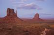 Monument Valley at night, Arizona