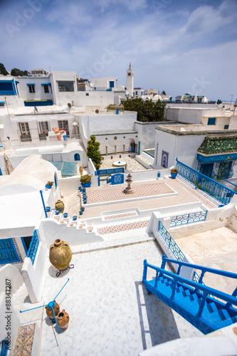 Staande foto Tunesië Sidi Bou Said, Tunisia