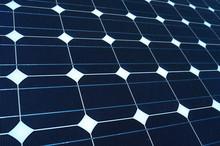 Texture Tilted  Solar Panels