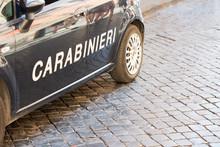Italian Police Carabineri In R...