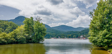 Lake Lure And Chimney Rock Landscapes