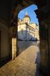 Dubrovnik Durchgang zum Platz mit Dom