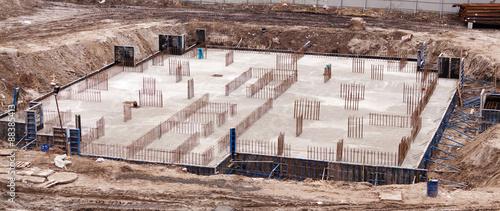Fotografía  Construction of an apartment house
