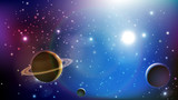 układ słoneczny tło wektor