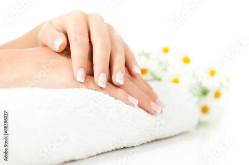Papiers peints Manicure Beautifully manicured fingernails