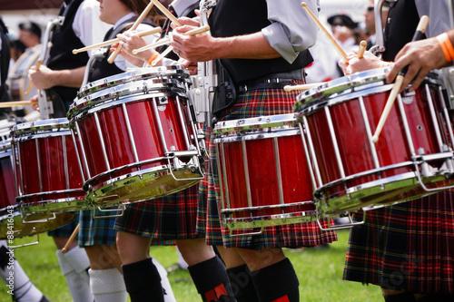 Leinwand Poster Scottish band
