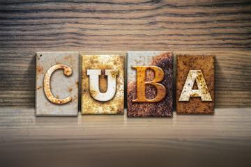 Cuba Concept Letterpress Theme