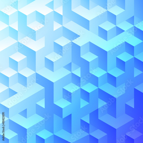plakat Abstract Geometric Background