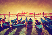 Vintage Painting Of Venice, It...