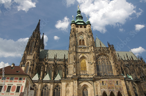 Staande foto Praag Saint Vitus cathedral