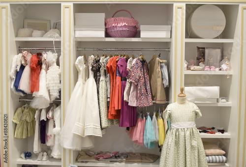 e478458686e Children clothing store - Buy this stock photo and explore similar ...