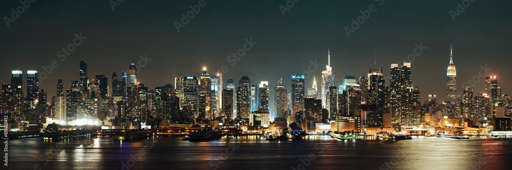 Fototapeta Midtown Manhattan skyline