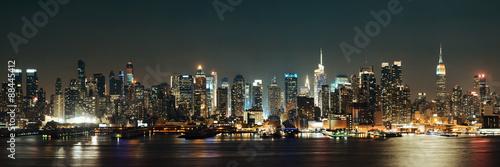 Fototapeta Midtown Manhattan skyline obraz