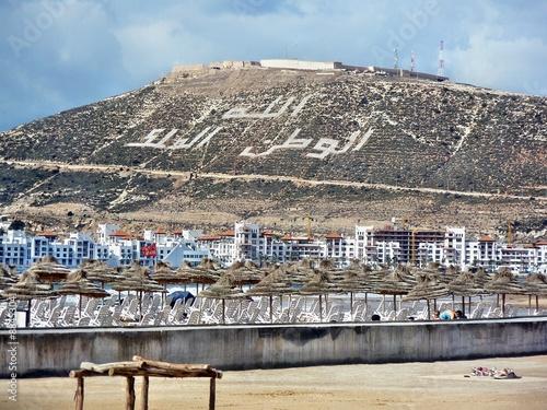 Fotobehang Marokko Agadir, Marocco