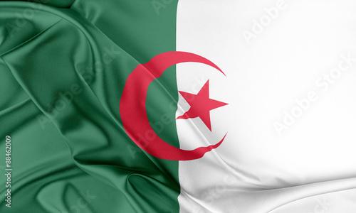 Photo Algeria Flag.