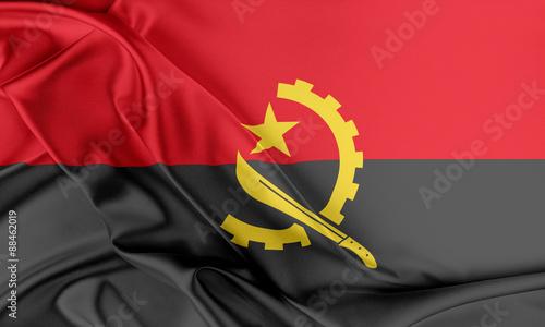 Photo Angola Flag.