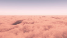 Aerial View Of Dense Cloud Layer