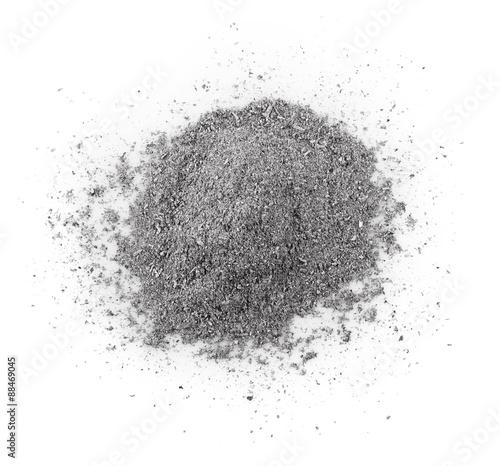 gray ash Canvas Print