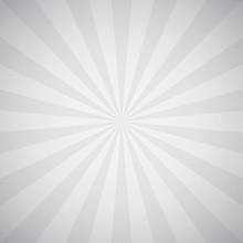Sunburst Gray Background Illustration