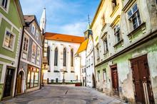 Church Of Virgin Mary-Jindrichuv Hradec,Bohemia