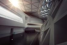 Modern Empty Atrium Or Hall In...