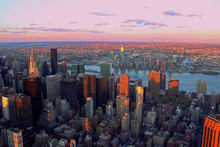 The Sight From The Empire State Building