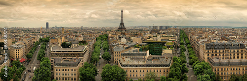 Paris panoramic #88488674