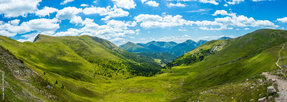 Fototapety, obrazy: Mountain valley