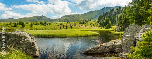 Staande foto Bergen Idyllic summer landscape