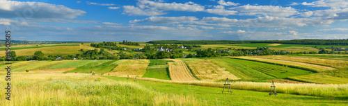 Foto op Canvas Pistache Summer countryside