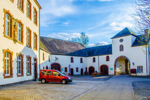 Interior Of Castle In Wiltz, Luxembourg