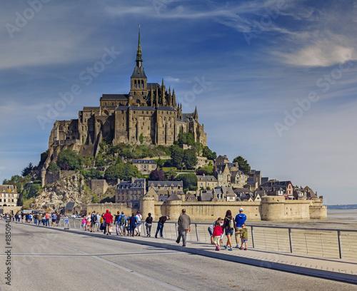 Mont Saint-Michel Fototapeta