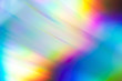 canvas print picture - The background color of the rainbow