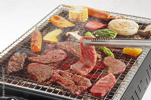 In de dag Grill / Barbecue BBQ