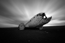 Plane Wrack In The South Of Iceland