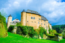 Bourlingster Village In Luxembourg Is Surrounded By Lush Forest And Its Highlist Is Old Castle Transformed Into Cozy Restaurant.